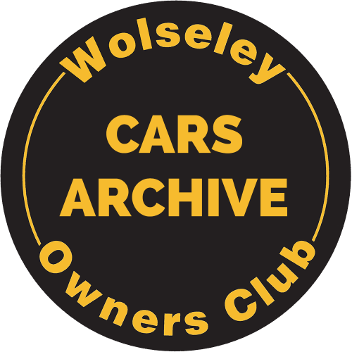 Wolseley Archive Cars - Wolseley Cars
