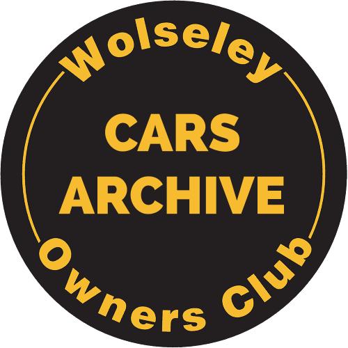 Wolseley Archive Cars - Wolseley Cars