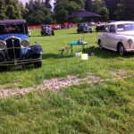1933 Wolseley 21/60 and 1958 Wolseley 15/50 at Glamis