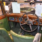 1934 Green Wolseley Hornet Special - Tickford interior
