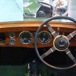 1934 Green Wolseley Hornet Special - Tickford interior dashboard