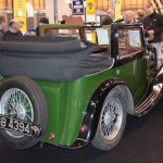 1934 Green Wolseley Hornet Special - Tickford rear right