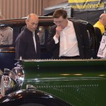 Wolseley Owners Club busy stand 1934 Green Wolseley Hornet Special - Tickford