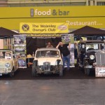 Wolseley Owners Club stand - 1968 Wolseley Hornets and 1932 Hornet Saloon