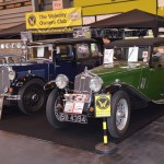 Wolseley Owners Club stand - 1932 Wolseley Hornet Saloon and 1934 Wolseley Hornet Special