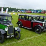 Classic cars including WOC Wolseley Hornet