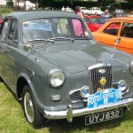 Saturday run start - Individual 1958 Wolseley 1500 Mk I