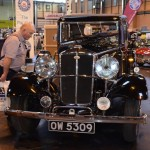 Wolseley Owners Club stand - 1934 Wolseley 21/60