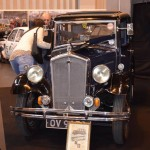 Wolseley Owners Club stand - 1932 Wolseley Hornet