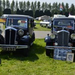 Saturday - Wolseley Owners Club stand - 1930s Wolseley Hornets