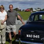 Wolseley Owners Club stand - 1958 Wolseley 1500 Mk I