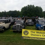 Wolseley Owners Club stand - Saturday