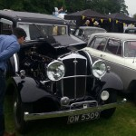 Wolseley Owners Club stand - Saturday - 1934 Wolseley 21/60