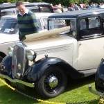 Wolseley Owners Club stand - Saturday - 1935 Wolseley Wasp