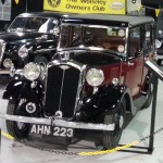 1934 Red Wolseley Nine