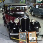 Red Wolseley Nine