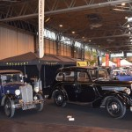 Wolseley Owners Club stand - 1932 Hornet and 1946 - 14/60