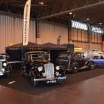 Wolseley Owners Club stand - Hornet, two 14/60s and mini Hornet