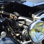 Wolseley Owners Club stand - Sunday - 1934 Wolseley 21/60 - engine