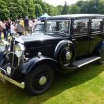 Wolseley Owners Club stand - Sunday - 1934 Wolseley 21/60