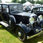 Wolseley Owners Club stand - Sunday - 1934 Wolseley 21/60 - front right