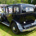 Wolseley Owners Club stand - Sunday - 1934 Wolseley 21/60 - rear left