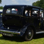 Wolseley Owners Club stand - Sunday - 1934 Wolseley 21/60 - rear right