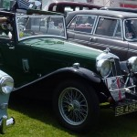 Wolseley Owners Club stand - Sunday - 1934 Wolseley Hornet Special