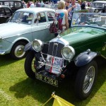 Wolseley Owners Club stand - Sunday