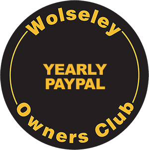 Wolseley Owners Club Membership