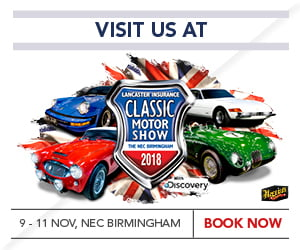 Lancaster Insurance Classic Motor Show NEC 2018